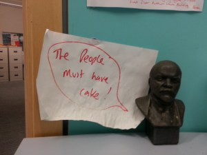Lenin and Cake