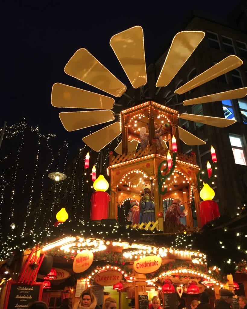 A nativity scene in Hamburg