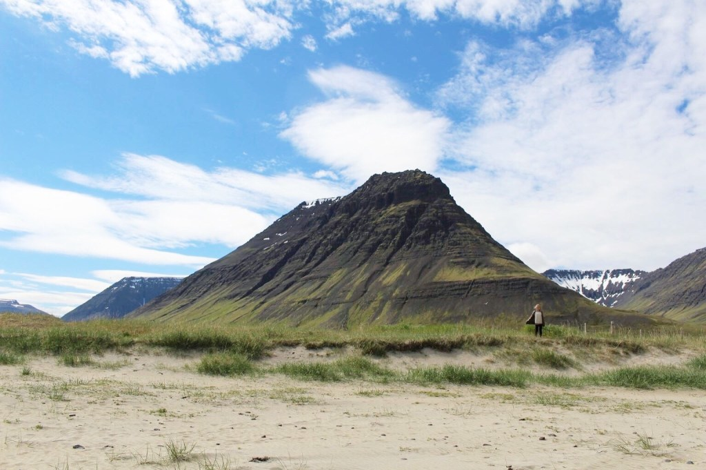 Summer in Iceland at Holt Beach