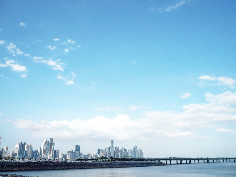 view of the skyline of Panama City