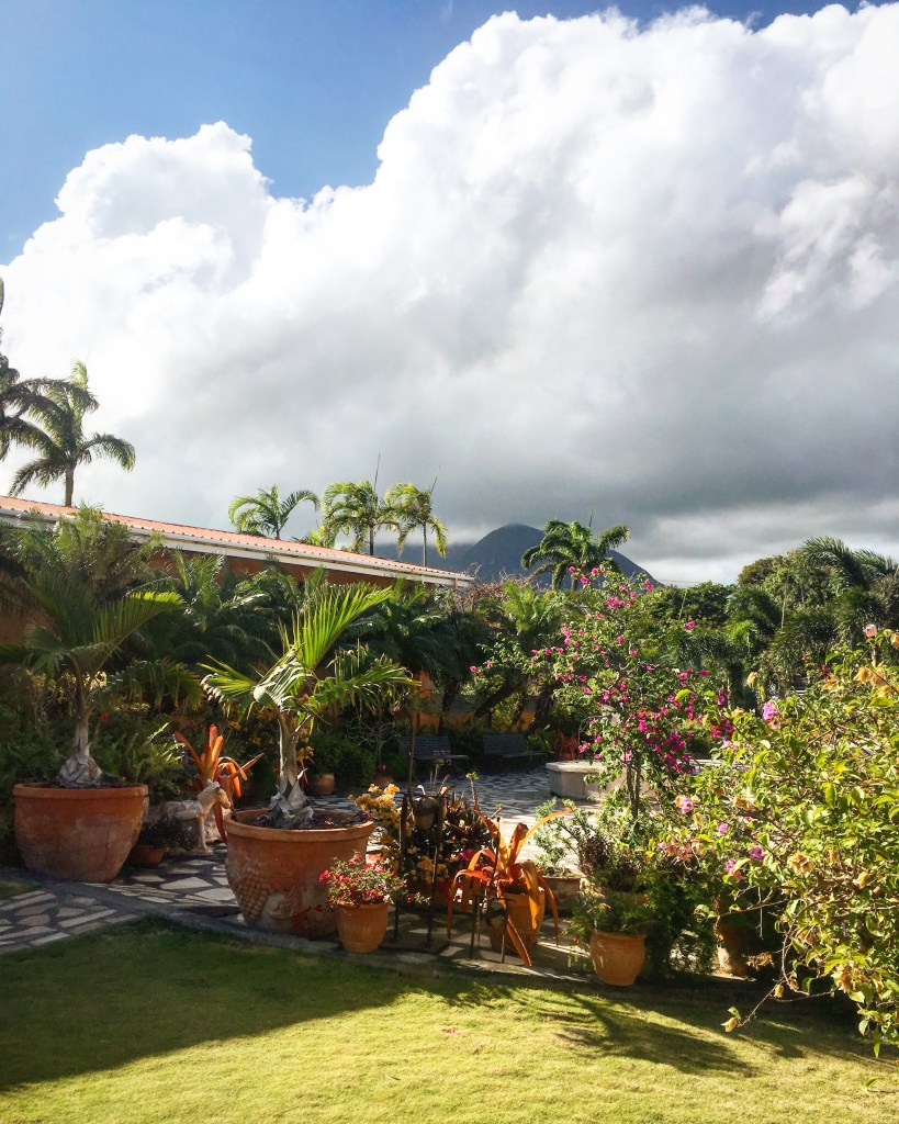 A beautiful garden within walking distance of St Kitts cruise terminal