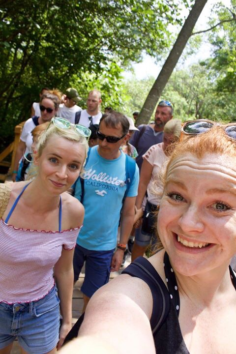 Is Krka National Park crowded? Yes. Yes it is.