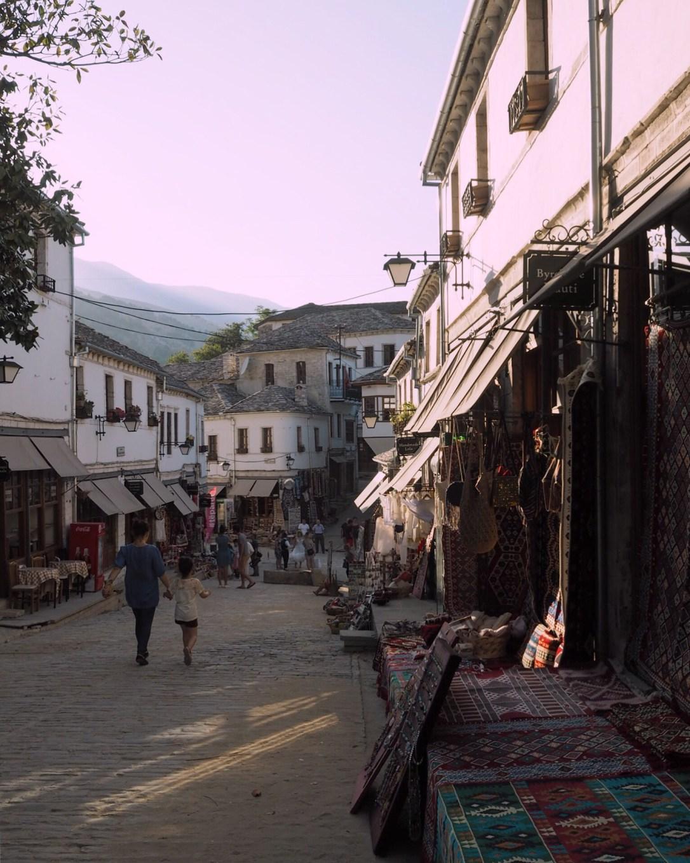 Gjirokastër old bazaar