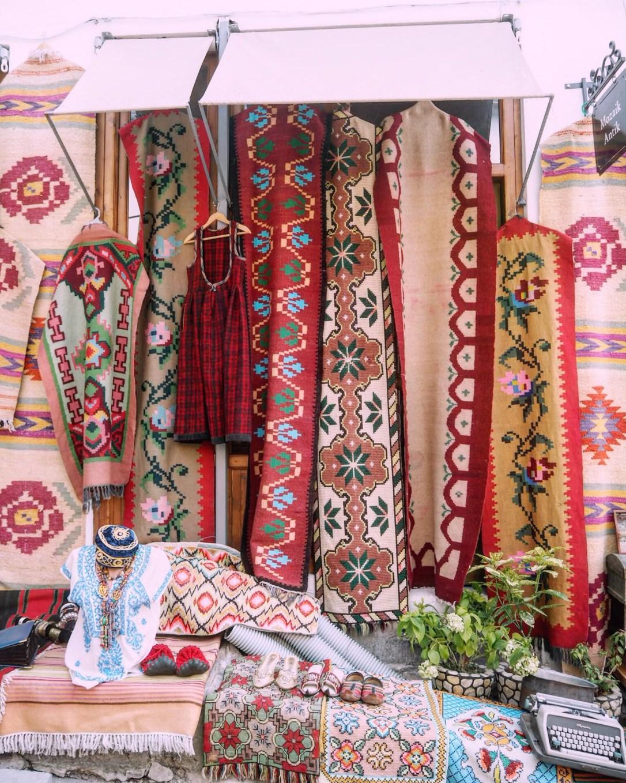 traditional Albanian carpets
