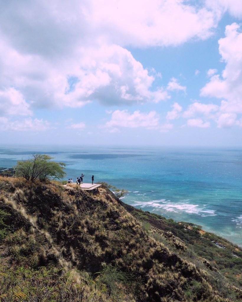 people taking photos in Hawaii