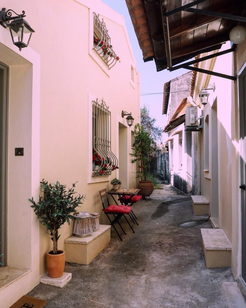 the best airbnb in Corfu