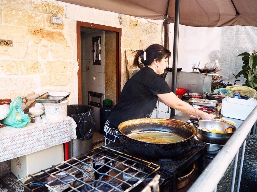 street food in Bari at Maria Sgagliozze