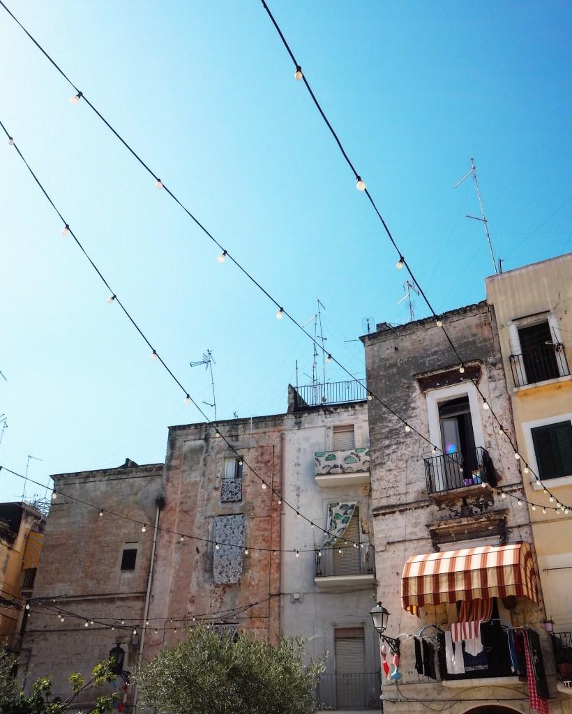 old town Bari in Puglia