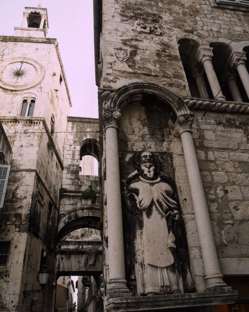 stone details in Split