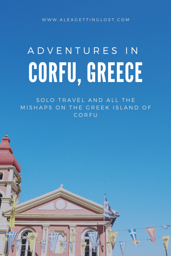 travel tales from the island of Corfu, Greece