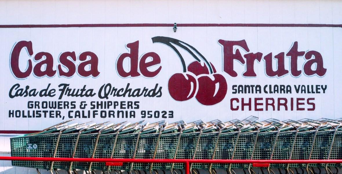 vintage cherry advertising
