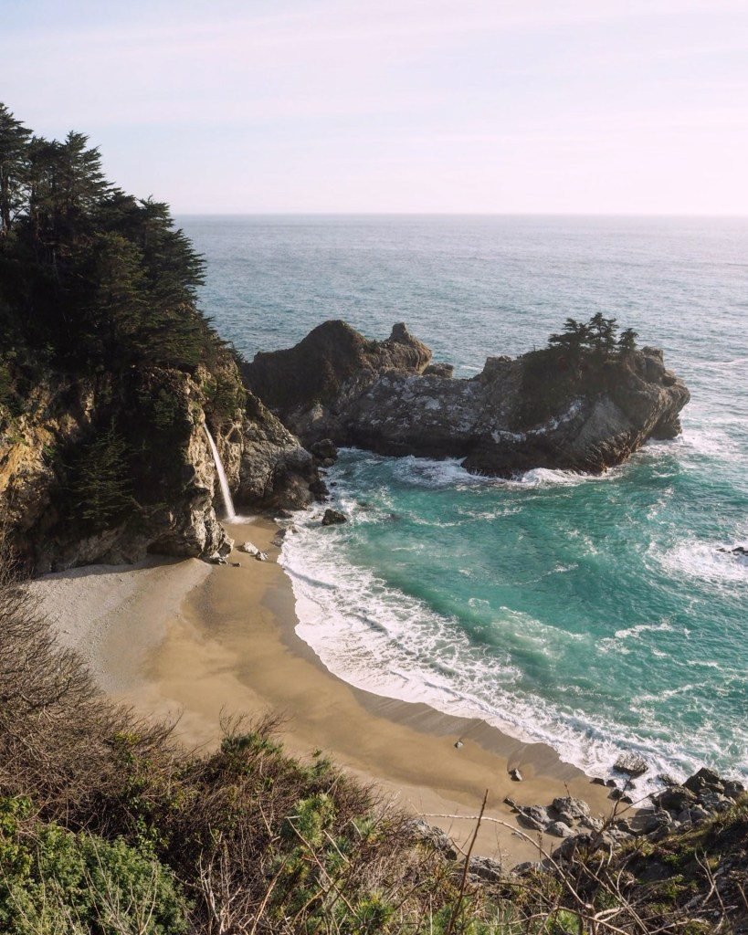 how to see McWay Falls in California