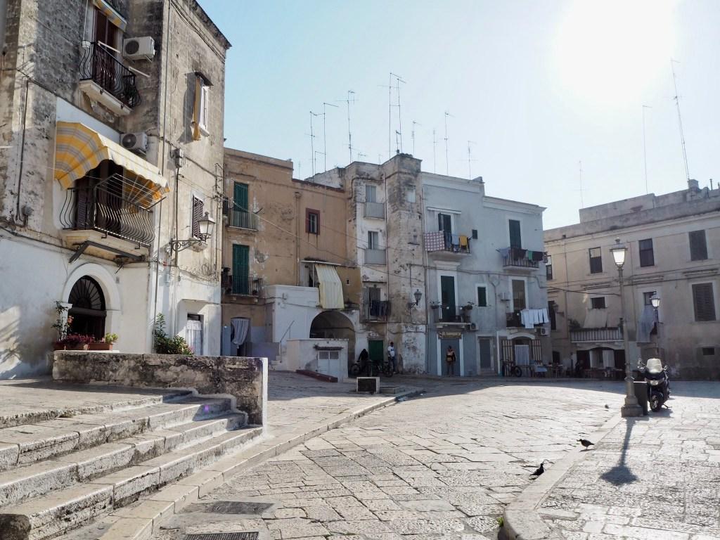 the beautiful streets of Bari Vecchia