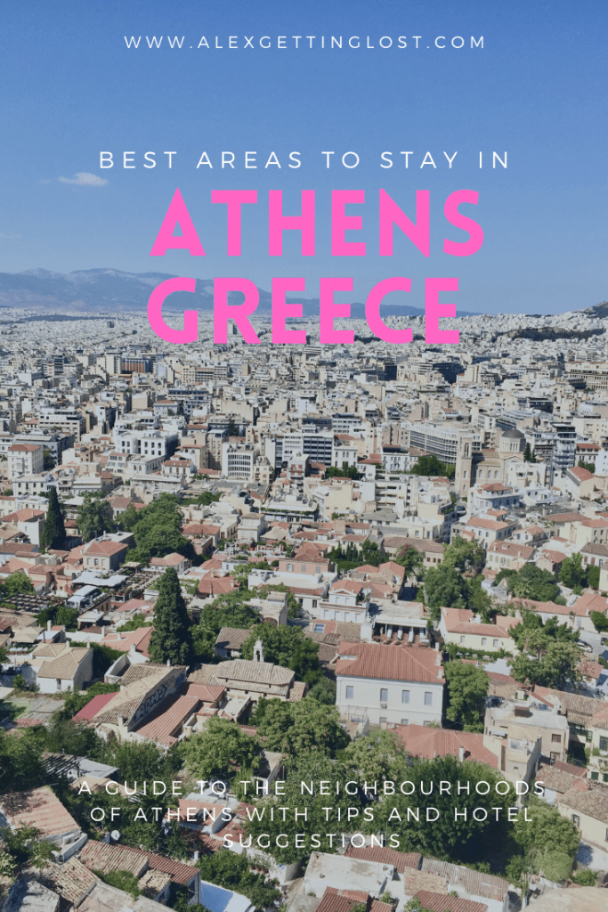guide to the neighbourhoods of Athens