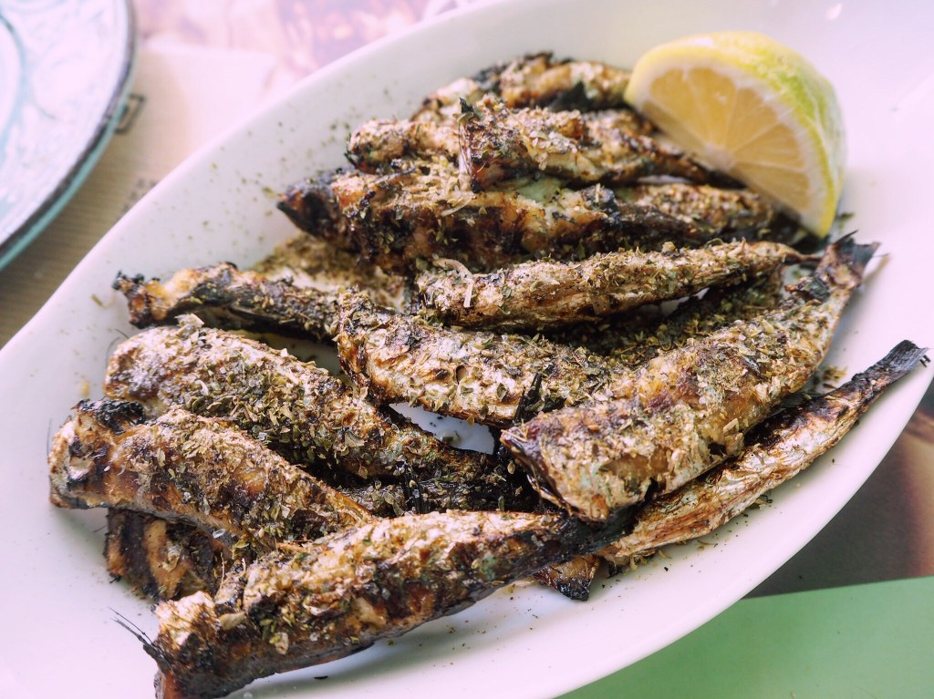 the best restaurant for grilled fish in Corfu Town