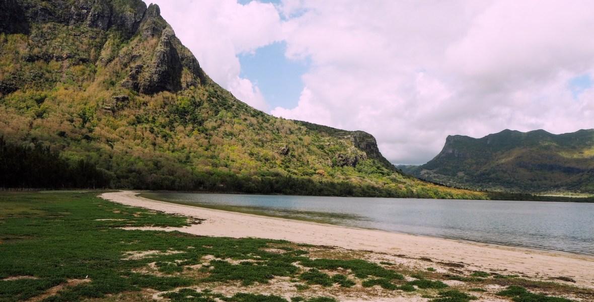 the Le Morne peninsula
