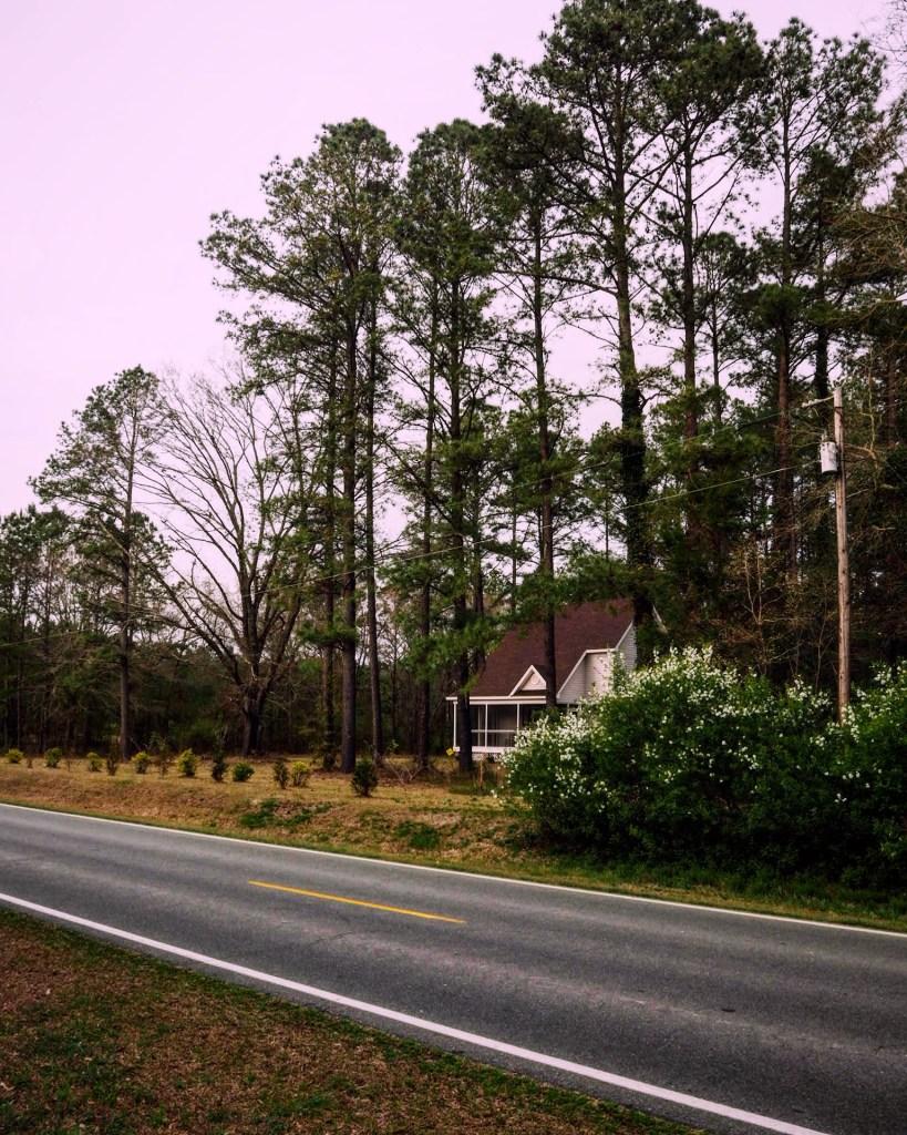 the tiny community of Riverton North Carolina