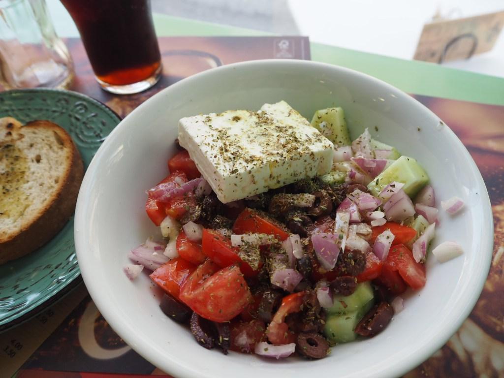 Greek Salad at Mare Misto