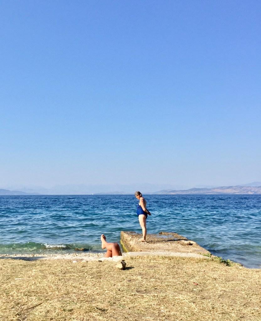 beach days in Ionian Sea