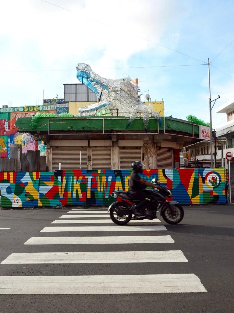 street art tour in Port Louis Mauritius