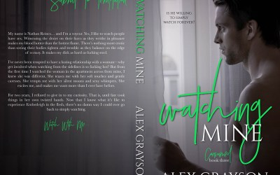 Cover Reveal and Live Pre-Order Links for Watching Mine