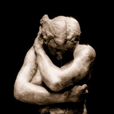 Een beeld van Rodin genaamd Eva.