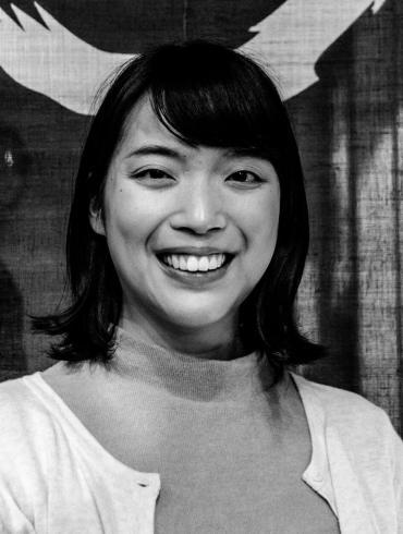 Portret van Mari Hidaka.