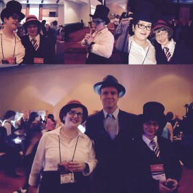 With amazing friends at the Roaring 20s Party!