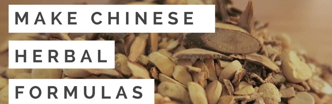 chinese herbal formulas