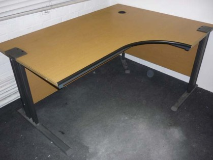 Desk (right hand corner)