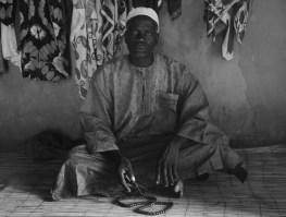 Abdou sits