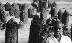 Grade 4 visit the Wassu stone circles.