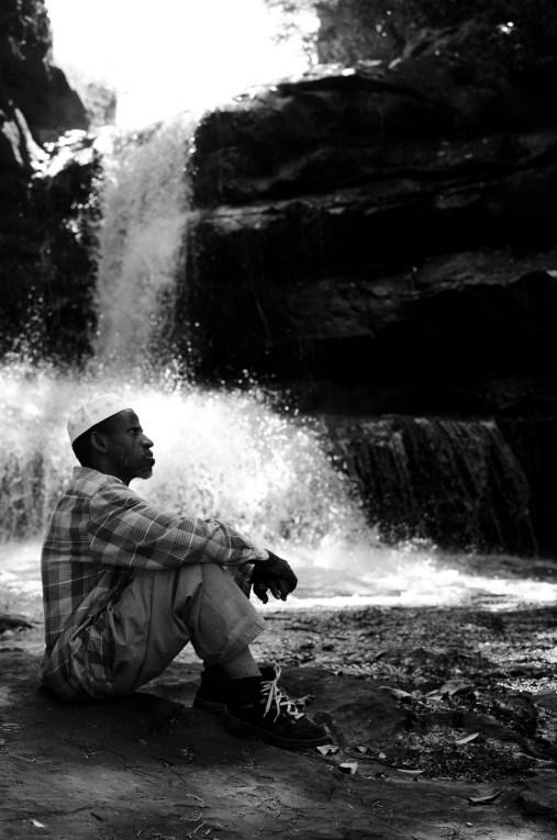 Hiking in Guinea. 2013.