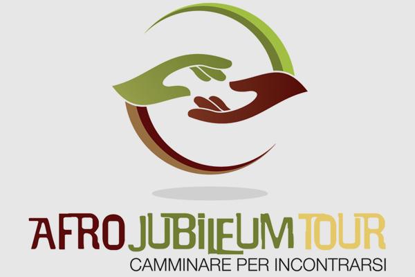 Progettazione logo marchio Afro Jubileum Tour | alexiamasi.com