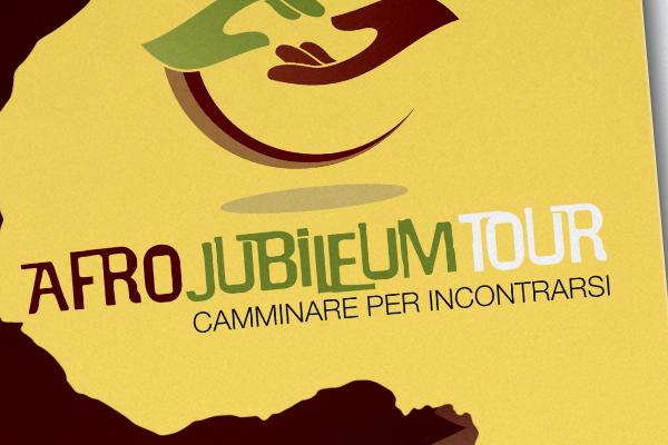 Impaginazione grafica pieghevoli Afro Jubileum Tour