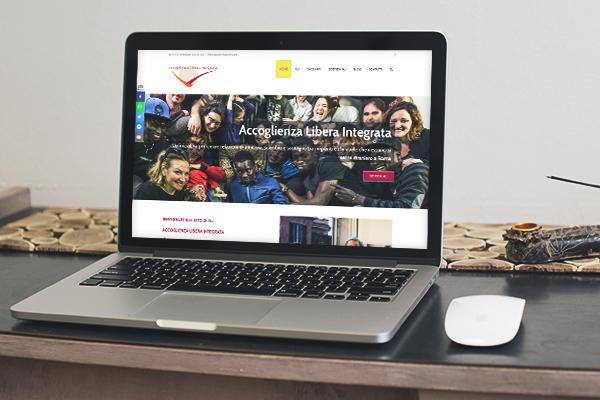 Realizzazione sito Accoglienza Libera Integrata | alexiamasi.com