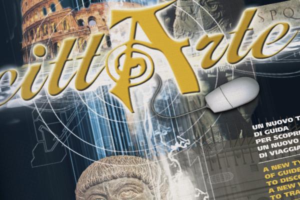 Progetto grafico impaginazione grafica brochure CittArte