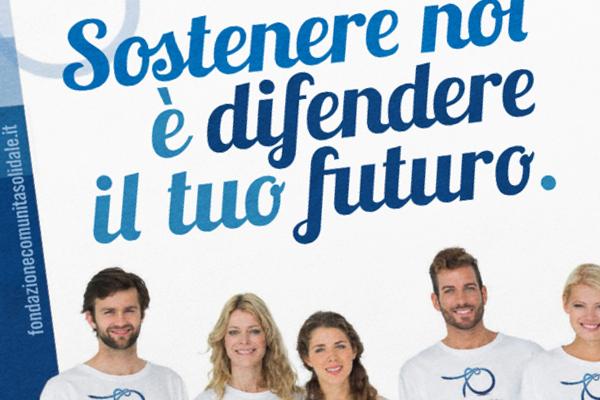 comunicazione creativa pubblicitaria Fondazione volantini