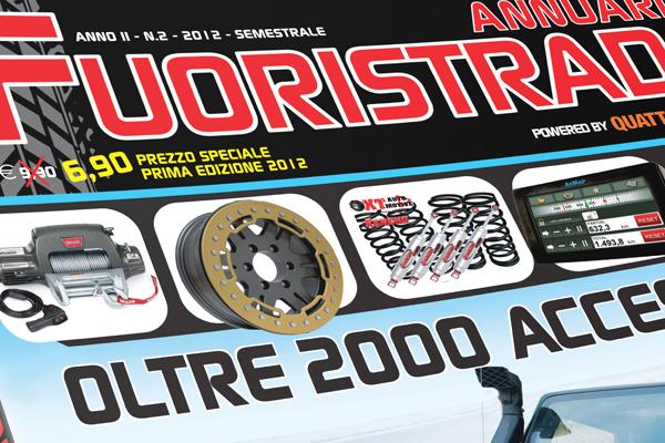 Impaginazione grafica annuario Fuoristrada