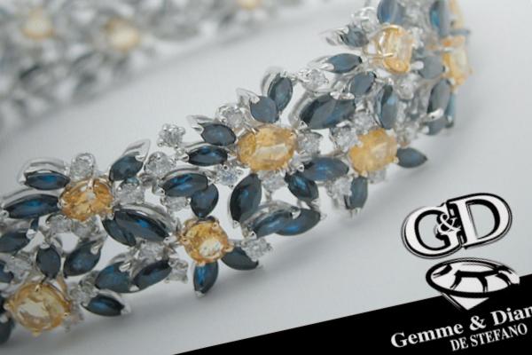 Progetto grafico e impaginazione brochure Gemme&Diamanti