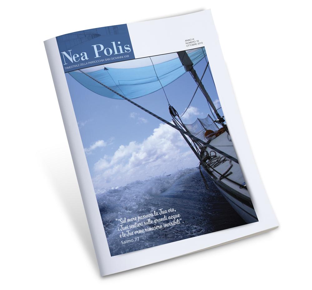 Impaginazione grafica rivista Neapolis