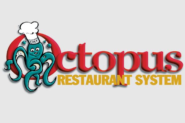 Progettazione logo marchio Octopus | alexiamasi.com