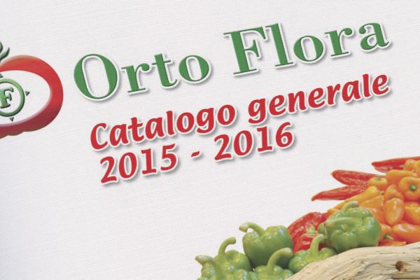 Impaginazione grafica cataloghi Ortoflora