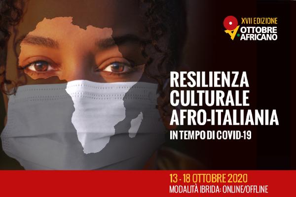 Creatività pubblicitaria eventi Ottobre Africano 2020