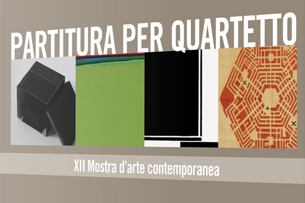 Impaginazione grafica catalogo arte Partitura