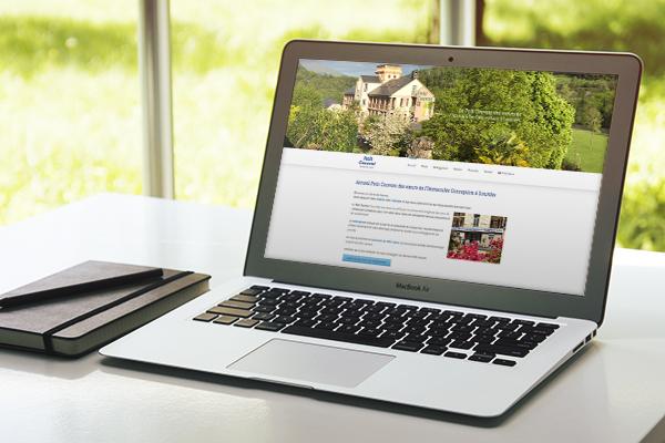 Realizzazione sito web multilingue Petit Couvent | alexiamasi.com
