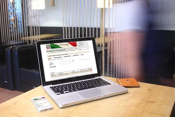 Interfaccia grafico piattaforma intranet Presidenza del Consiglio | alexiamasi.com