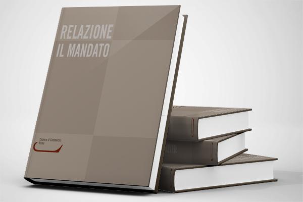 Impaginazione grafica bilanci Retecamere
