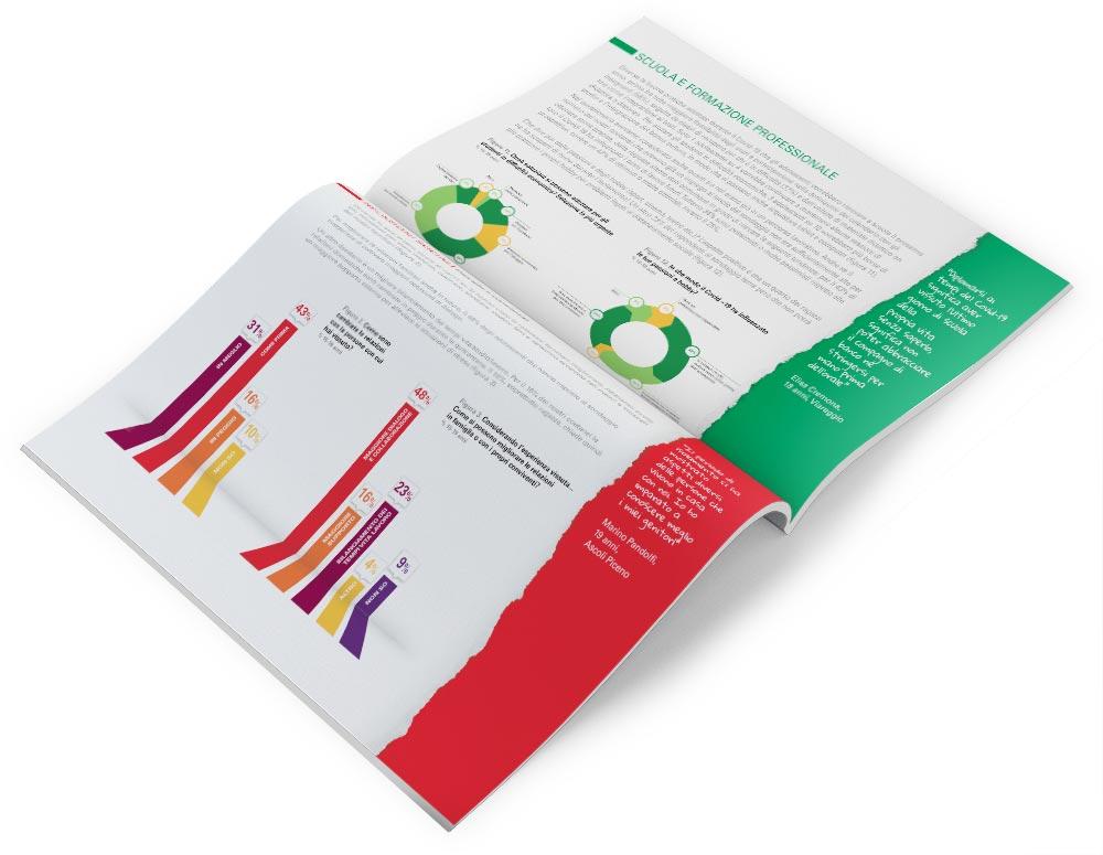 Impaginazione grafica brochure Unicef ı alexiamasi.com