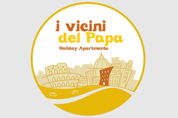 Progettazione logo marchio Vicini del Papa   alexiamasi.com